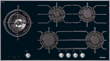 KM 3054 - Gas hob with electronic functions for maximum safety and user convenience.--NO_COLOR